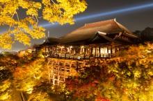 秋・紅葉おすすめスポット:清水寺