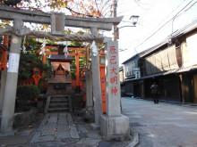 6月の京都観光:辰巳大明神