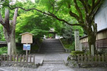 7月の京都観光:安楽寺